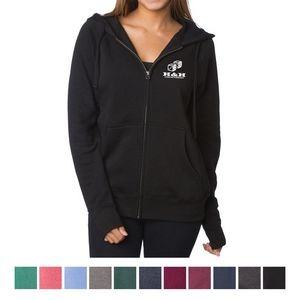 Independent Trading Company Unisex Special Blend Zip Hooded Sweatshirt
