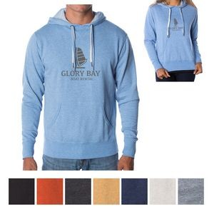 Independent Trading Company Unisex Heather French Terry Hooded Pullover